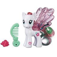 My Little Pony - Transparent pink blossomforth with glitter and accessory - Figure