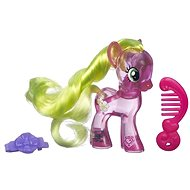 My Little Pony - Transparent pink Flower Wishes with glitter and accessory - Figure