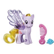 My Little Pony - Transparent pony Lily Blossom with glitter and accessories - Figure