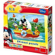 Dino Mickey Mouse - Puzzle