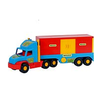 Wader - Truck Container - Toy Vehicle