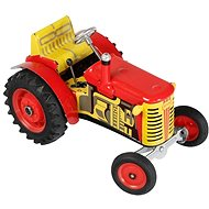 Kovap Zetor tractor on the red key - Metal Model