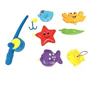 Bino Set toys into the tub with a rod - Play Set