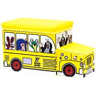 Bino The Little Mole - Toy bus boxes - Kids' Bedroom Decoration