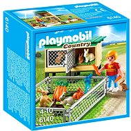Playmobil 6140 hutch with outdoor enclosure - Building Kit