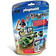 PLAYMOBIL® 6162 Green Interactive Cannon with Pirate Captain - Building Kit
