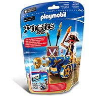 PLAYMOBIL® 6164 Blue Interactive Cannon with Pirate - Building Kit