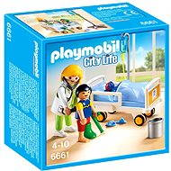 Playmobil 6661 Children's doctor with a patient - Building Kit