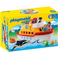 PLAYMOBIL 1.2.3 ® 6957 My Take Along Ship - Building Kit