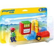 PLAYMOBIL 1.2.3 ® 6959 Forklift - Building Kit