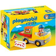 PLAYMOBI 1.2.3 ® 6960 Construction Truck - Building Kit