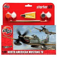 AirFix Starter Set A55107 Aircraft - North American Mustang IV - Plastic Model