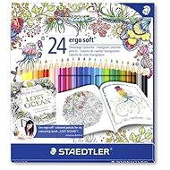 "Colored crayons ""Ergo Soft"" limited edition Johanna Basford - Stationery Set"