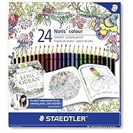 "Color Crayons ""Noris Color"" limited edition Johanna Basford - Stationery Set"