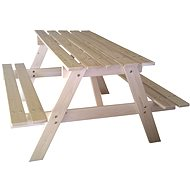 Cubs - Kids wooden picnic table large - Playset Accessories