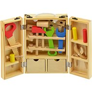 Tools in wooden case - Play Set