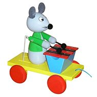 Pulling mouse with xylophone - Push and Pull Toy
