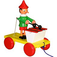 Pinocchio with xylophone - Push and Pull Toy