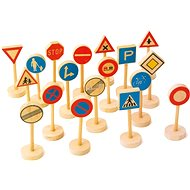 Wooden children's traffic signs large - Play Set