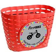 FirstBike basket red - Bike Basket