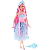 Mattel Barbie - Long hair with pink hair - Doll