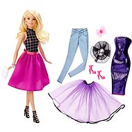 Mattel Barbie - Model and blonde dress - Doll