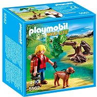 PLAYMOBIL® 5562 Beavers with Backpacker - Building Kit