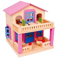 Pink Dollhouse with Terrace - Clara - Doll Accessories