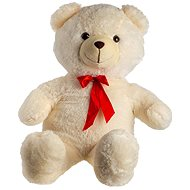 Bear with ribbon - beige - Plush Toy