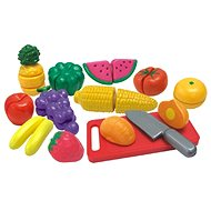 Fruits and vegetables sliced ​​in a box - Play Set