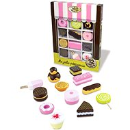 Set of wooden sweets - Play Set