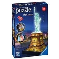 Ravensburger Statue of Liberty - Night Edition 3D - Puzzle
