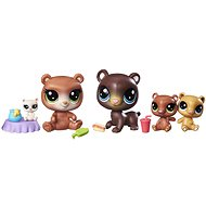 Littlest Pet Shop Collector's Edition Cubby Hill Bears - Play Set