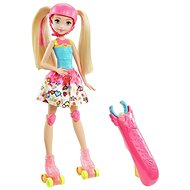Mattel Barbie in the world of games On skates - Doll