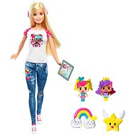 Mattel Barbie In the world of games With Emoji - Doll