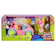 Mattel Barbie In the world of games Set with a car - Doll