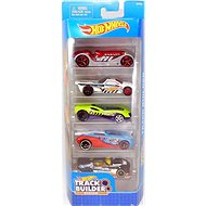 Hot Wheels Angels 5 Pieces - Track Builder - Toy Car Set