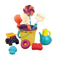 B-Toys Set of sandy toys in a bag - Sand Tool Kit