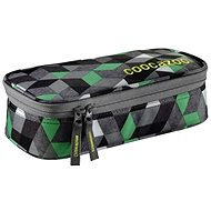 Crazy Cubes Green - Pencil Case