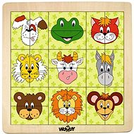 Woody Animal Headers - Puzzle