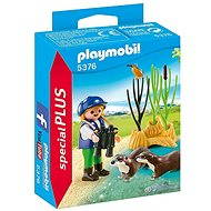 Playmobil Young Explorer with Otters 5376 - Figures