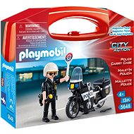 Playmobil 5648 Portable Box - Engineer with a motorcycle - Building Kit