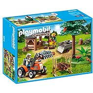 Playmobil 6814 Axles with tractor - Building Kit