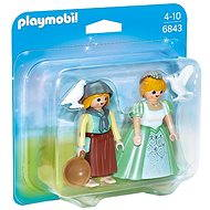 Playmobil 6843 Duo Pack Princess with a damsel - Figures