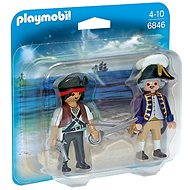 Playmobil 6846 Duo Pack Pirate and soldier - Figures