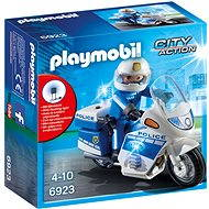Playmobil 6923 Police Bike with LED Light - Building Kit