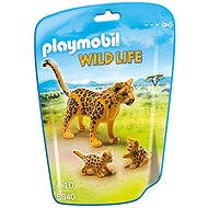 Playmobil 6940 Leopard with Cubs - Figures