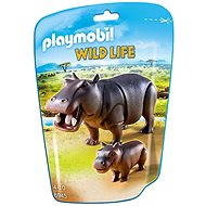 Playmobil 6945 Hippo with baby - Figures