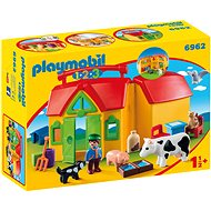 Playmobil 6962 My first portable farm - Toddler Toy
