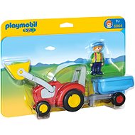 Playmobil Tractor with Trailer 6964 - Toddler Toy